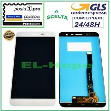 DISPLAY LCD ASUS ZENFONE 3 ZE552KL Z012S Z012DE TOUCH SCREEN VETRO BIANCO