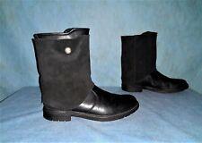 bottines boots IKKS en cuir noir pointure 36 fr