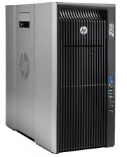 HP Z820, Dual Xeon E5-2690 2X8-Core 2.9GHz/64GB RAM/250GB SSD and 1TB HDD/K2000