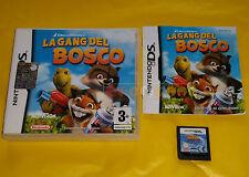 LA GANG DEL BOSCO Nintendo Ds Versione Ufficiale Italiana ○○○ COMPLETO - AJ