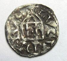 - Rodolphe III Roi de Bourgogne - Denier - Lyon - 993-1032 -