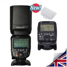Yongnuo YN-E3-RT Transmitter + YN 600EX-RT II TTL Speedlite Flash For Canon UK