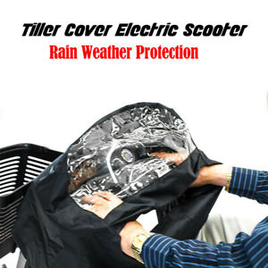 Control Panel Hand Tiller Rain Cover Mobility Scooter Cover Dustproof Waterproof