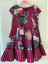 BNWT Ted Baker HUMMINGBIRD party dress 18-24 months NEW GIFT Xmas