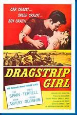 Dragstrip Girl Movie Poster 24x36