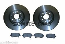VAUXHALL INSIGNIA 1.8 2.0 CDTi REAR SOLID DISCS AND PADS 08-14