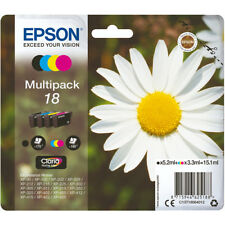 Epson T1806 18 Genuine Multipack Daisy Ink Cartridges C13T18064010