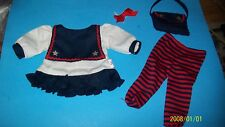 FITS CABBAGE PATCH KID DOLL CLOTHES TRU DOLLS sailor dress set 0000