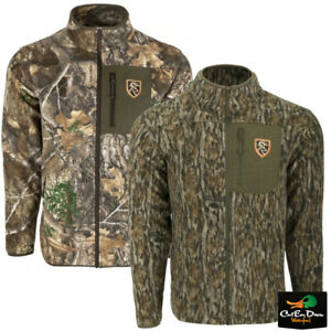 NON-TYPICAL DRAKE - STORM FRONT FLEECE MIDWEIGHT 4-WAY STRETCH FULL ZIP JACKET