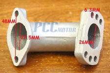 26MM Intake Manifold Pipe 125cc 150cc 160cc Chinese Pit Bike ATV H IN27
