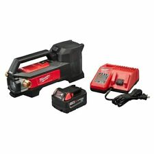 Milwaukee M18 Lithium Ion Cordless Transfer Pump with Battery and Charger