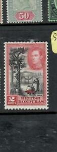 BRITISH HONDURAS (P2509B)  KGVI  2C  SG 151A        MOG