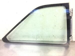 88-89 Accord 2Dr Coupe Right Quarter Panel Vent Glass Triangle Window Used OEM
