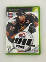 NHL 2003 - Original Xbox Game - Complete & Tested