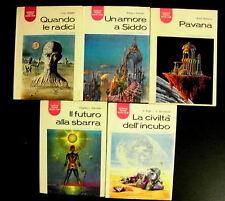 Lotto stock di 5 romanzi fantascienza La Tribuna Science Fiction Book Club