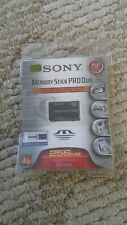 Sony 256 MB Memory Stick Pro Duo Flash Memory Card MSXM-256S