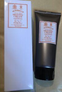 D.R.HARRIS & CO LUXURY LATHER SHAVING CREAM SANDALWOOD 75G NEW IN BOX RRP £12.50