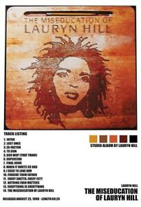 The Miseducation of Lauryn Hill Album Poster home Music Decor no frame