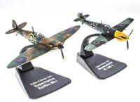 Messerschmitt Bf 109E & Supemarine Spitfire Mk I Duelling Fighters Atlas 1/72
