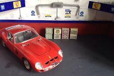 1/18 Escala Diorama garaje cajas de marca (buenos para colocar en paletas).