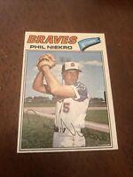 1977 Topps Phil Niekro Atlanta Braves #615 Baseball Card