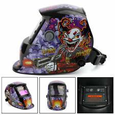 Solar Auto Darkening Welding Helmet Tig Mig Weld Welder Lens Grinding Mask Clown