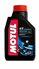 Motul 3000 4t 10w40 Mineral 4-takt-motorenöl 1 Litro Lata