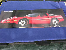 Corvette - Fold Out Sales Brochure