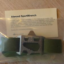 Peter Atwood titanium SPORTWRENCH #4, green 22mm NATO/ZULU strap