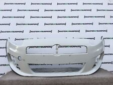 FIAT GRANDE PUNTO ABARTH FRONT BUMPER IN WHITE GENUINE [F141]