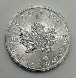 1oz Silver Canada Maple Leaf Privy Fine Silver 9999