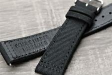 Handmade Watch Strap Composite Fibers Military/Aviator Style Durable Stitch