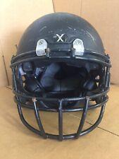 USED XENITH X2 ADULT FOOTBALL HELMET - LARGE - FLAT BLACK