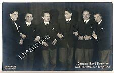 DRESDEN Dancing-Band Boerner & Tanz-Trainer Erry Tino * Foto-AK um 1920
