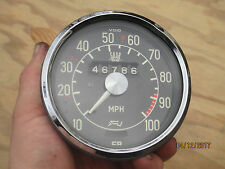 SAAB 96 V4 FACTORY 0-100 MPH VDO SPEEDOMETER GAUGE 1960-1968