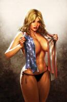 Patriotika #1 ALEX RONALD CRAIN HOMAGE Variant Cover limited 50