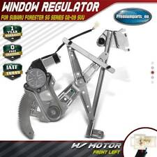Window Regulator with Motor Front Left for Subaru Forester SG 02-08 2 Pin Motor