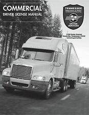 COMMERCIAL DRIVER MANUAL FOR CDL TRAINING (TENNESSEE) ON CD IN PDF PROGRAM.