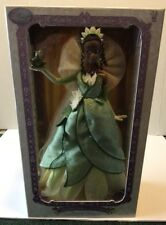 Disney Store Limited Edition 1 of 5000 The Princess and the Frog Tiana Doll 17""