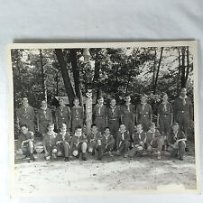 Vintage 1958 Boy Scout Scouts Pine Hill Scout Reservation 8x10 Photo Black White