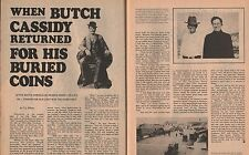 When Butch Cassidy Returned for his Buried Coins+Goodrich,Wilsey