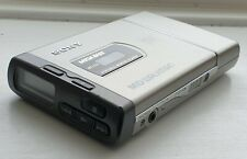 More details for sony mz-e20 md walkman portable minidisc player with case and 21 minidiscs