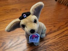 Taco Bell Chihuahua - Plush Stuffed Animal Dog Toy with Taco Bell Hat on! Keeper