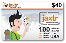 Jaxtr Global SIM Card