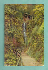 C1930'S A. R. QUINTON POSTCARD - SHANKLIN CHINE ISLE OF WIGHT SALMON 2262