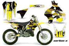 Suzuki RM 125 Graphic Kit AMR Racing MX # Plates Decal Sticker RM125 96-98 CBNXY