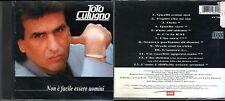 CUTUGNO TOTO NON E' FACILE ESSERE UOMINI CD 1991