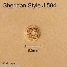Punziereisen Sheridan Style J 504 - Flower Center - Craft Japan