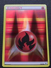 POKEMON TCG: XY GENERATIONS FIRE ENERGY 76/83 COMMON REVERSE