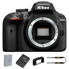 Nikon D3400 DSLR Camera Body Only (Black) - Summer Time Sale